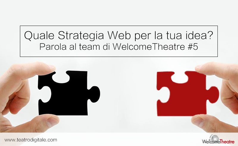 Digital strategy - startup teatro