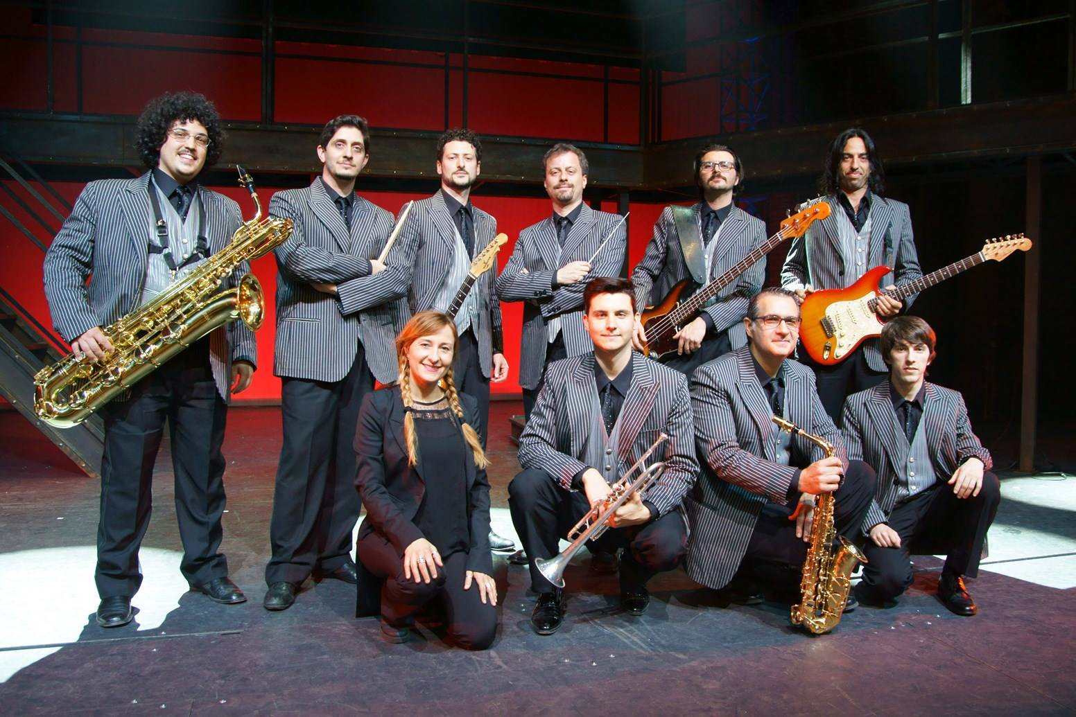 band jersey boys musical con angelo racz