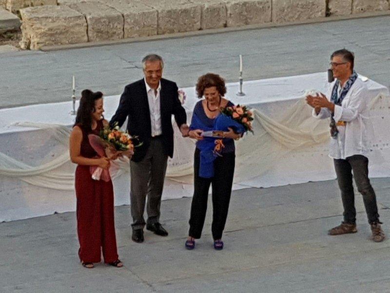 """Premiazione Edizione 2016: Sofia Bolognini con """"Figlie d'Egitto, ovvero le Supplici"""""""