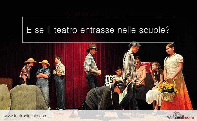 Perchè fare teatro nelle scuole? Ecco alcuni validi motivi