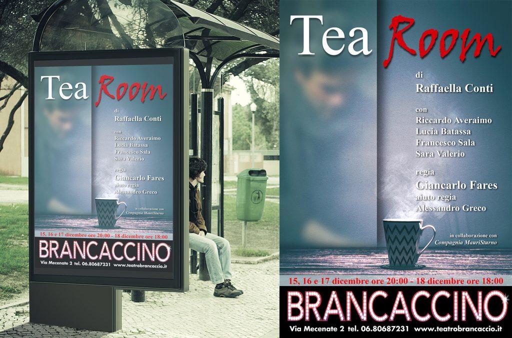 Tea Room spettacolo teatrale a Roma