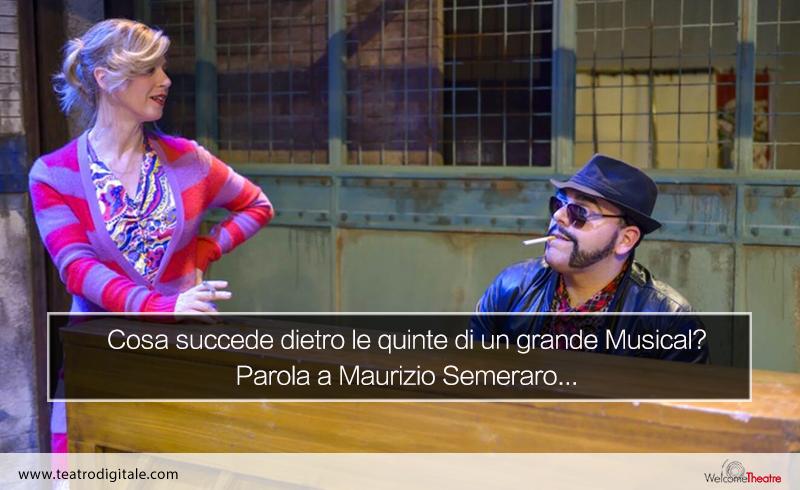 Dietro .e quinte di Evita il Musical, con Maurizio Semeraro
