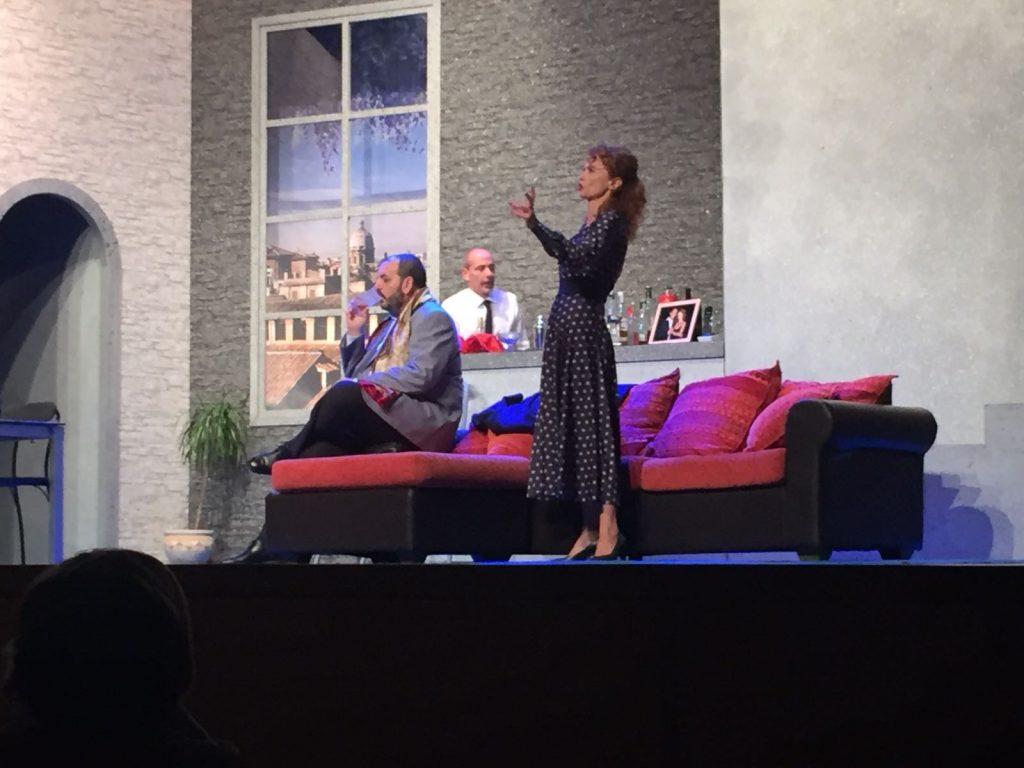 Beatrice Luzzi nello spettacolo teatrale Coniugi