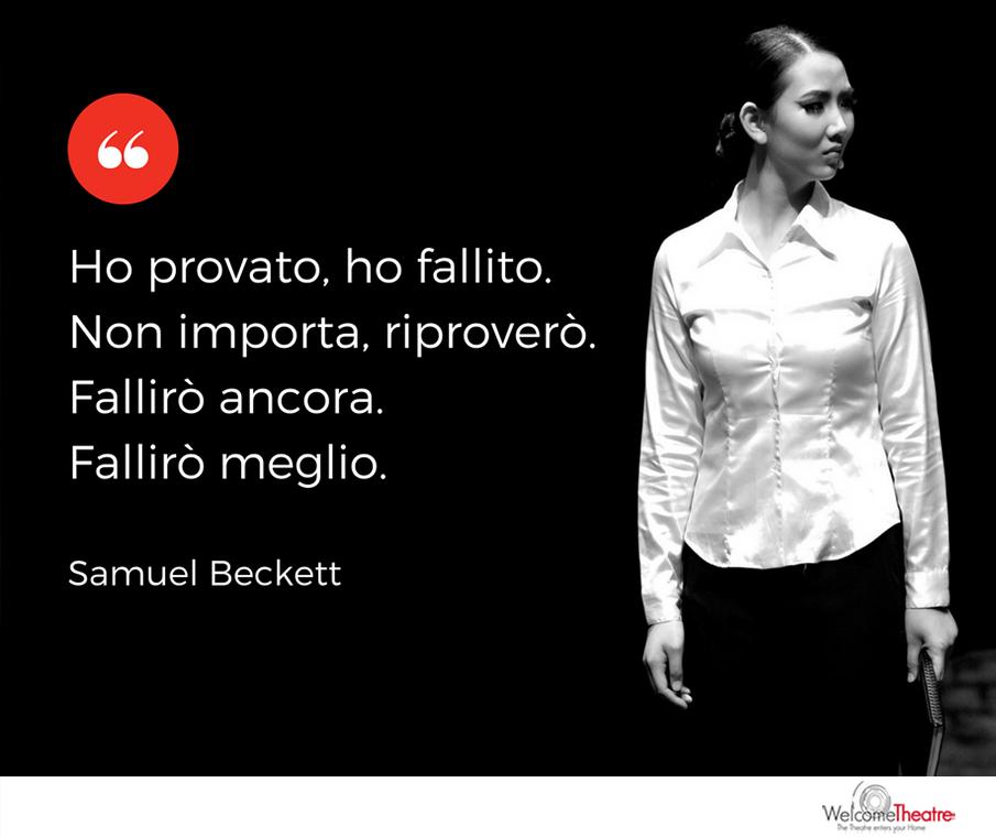 Samuel Beckett fallire meglio