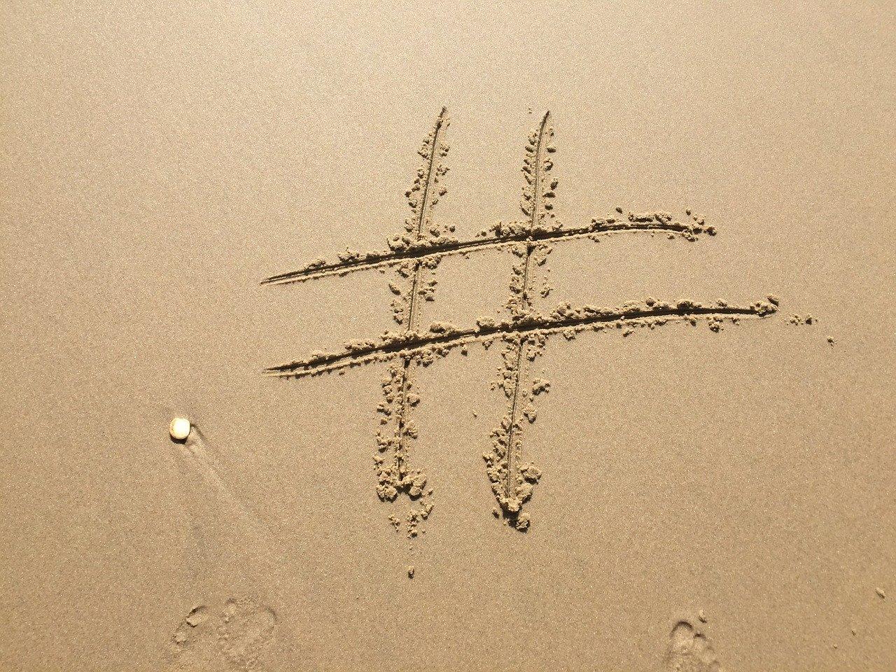 hashtag cos'è