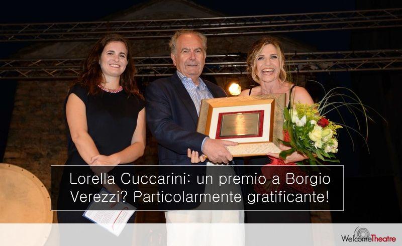 Intervista Lorella Cuccarini Premio miglior spettacolo 2017