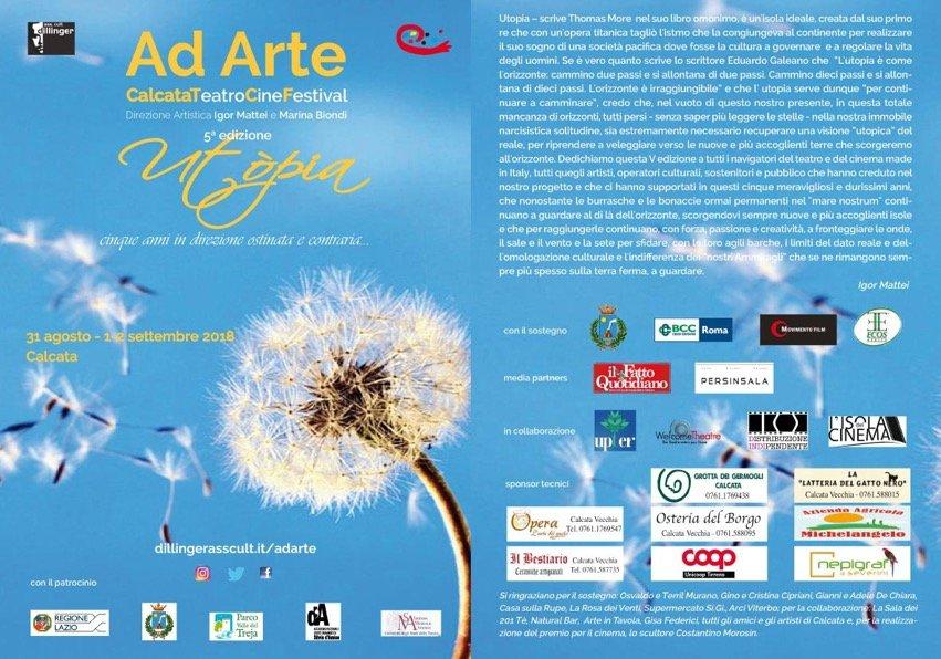 AD ARTE 2018 - Locandina