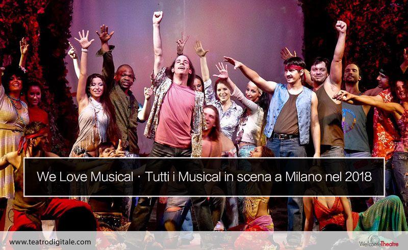 musical a milano 2017 e 2018
